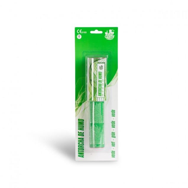 antorcha humo verde