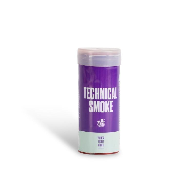 humo tecnico violeta
